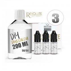 Pack Liquide De Base - 200 ml - Revolute pas cher