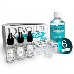 Pack Base 100 ml Fresh - Revolute pas cher