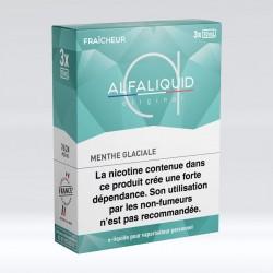 Tripack Menthe Glaciale 30 ml - Alfaliquid pas cher