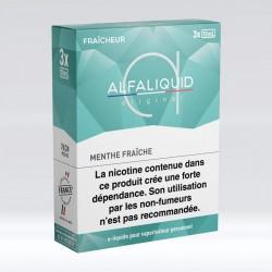 Tripack Menthe Fraiche 30 ml - Alfaliquid pas cher