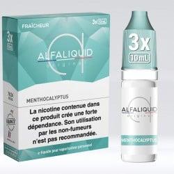 Tripack Menthocalyptus 30 ml - Alfaliquid pas cher