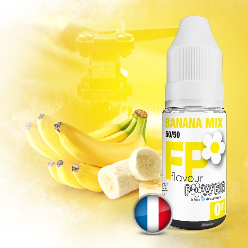 Banana Mix 50/50 - Flavour Power pas cher