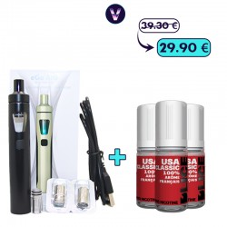 Pack Ego Aio Tabac 3mg - Fumeur occasionnel pas cher