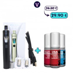 Pack Ego Aio Mix 3mg - Fumeur occasionnel pas cher