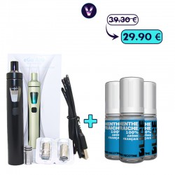Pack Ego Aio Menthe 3mg - Fumeur occasionnel pas cher