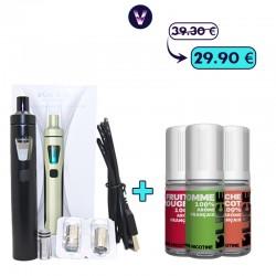 Pack Ego Aio Fruité 3mg - Fumeur occasionnel pas cher