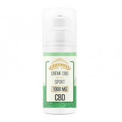 Crème CBD Sport - Greeneo pas cher
