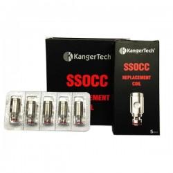 Pack de 5 résistances SSOCC V2 - Kangertech pas cher