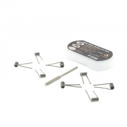N80 Alfa Braid coil 2 en 1 (x8) - Geek Vape pas cher