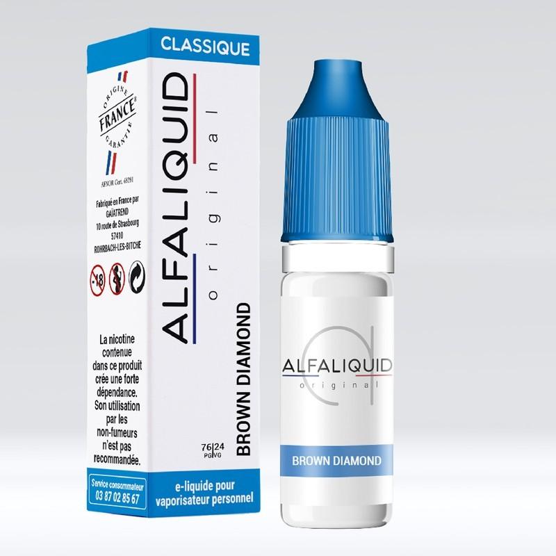 Brown Diamond - Alfaliquid pas cher