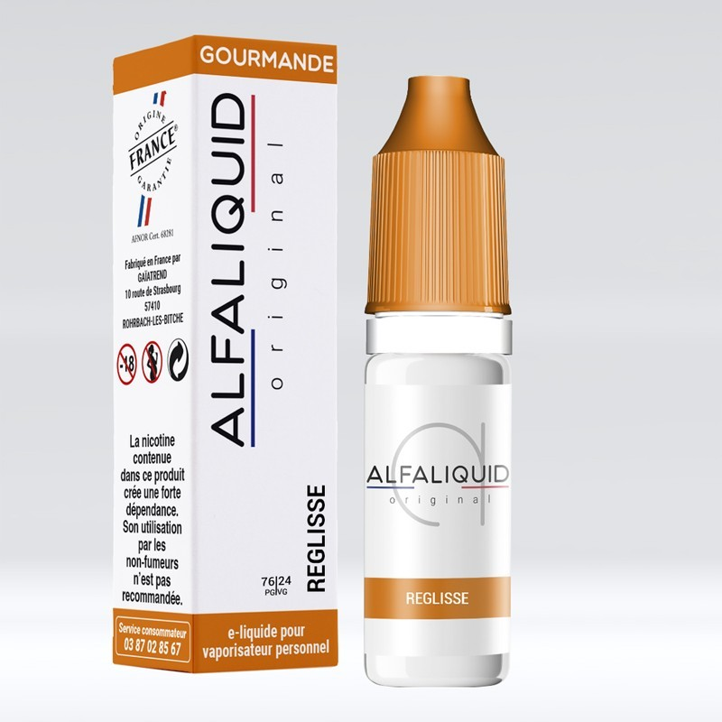 Réglisse - Alfaliquid pas cher
