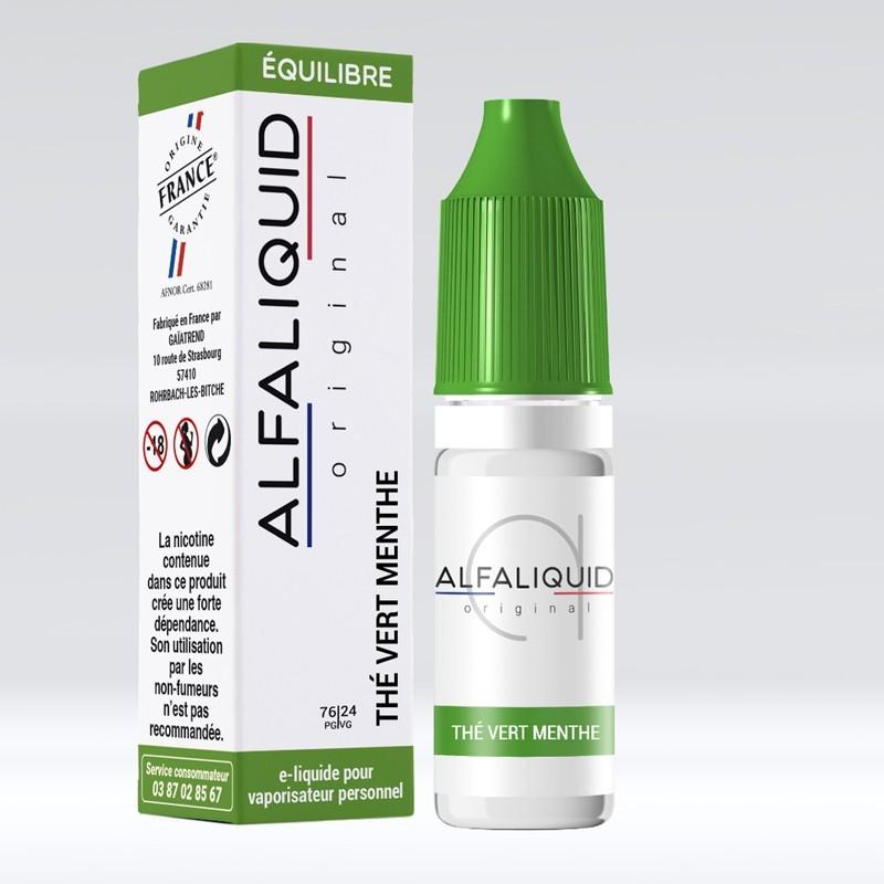 Thé Vert Menthe - Alfaliquid pas cher