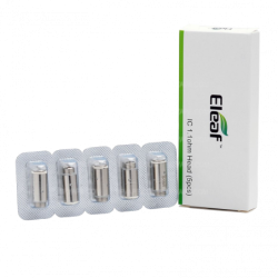 Pack de 5 résistances Ic Head - Eleaf pas cher