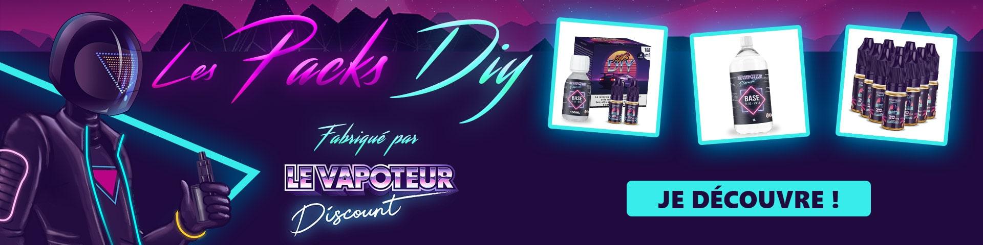 Pack DIY Le vapoteur-discount
